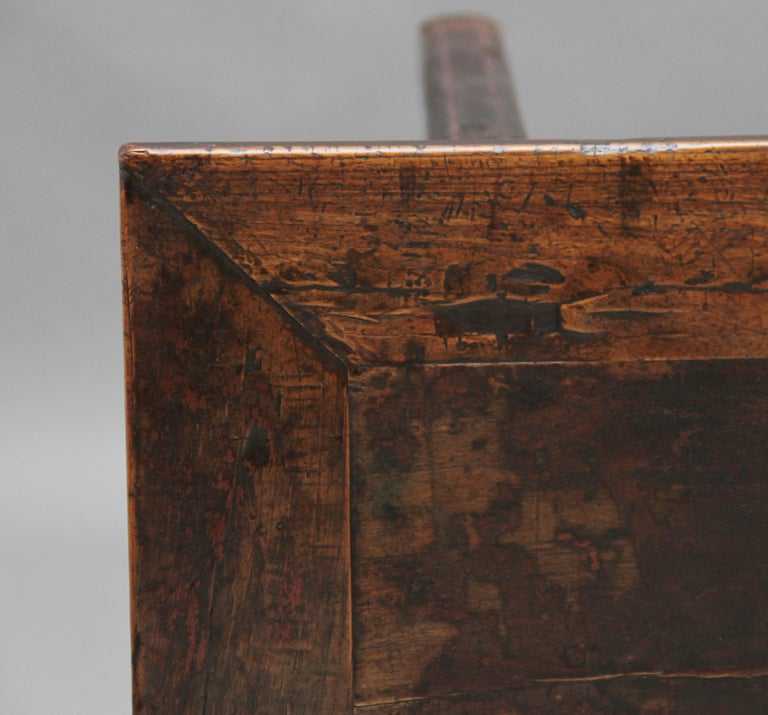 19th Century Chinese Elm Side Table For Sale 3