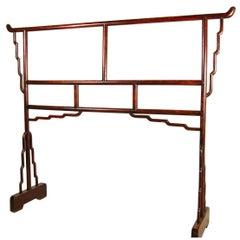 19th Century Chinese Elmwood Garment Rack