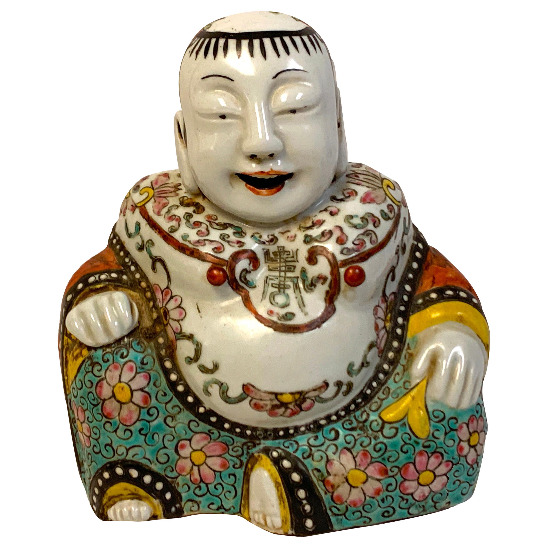 19th Century Chinese Export Seated Buddha