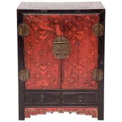 Finely Lacquered Chinese Chest, c. 1850