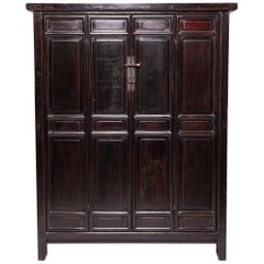 19th Century Chinese Four Panel Cabinet