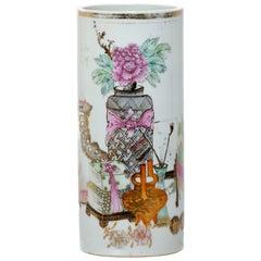 Early 20th Century Chinese Gilt Yi Tong Vase