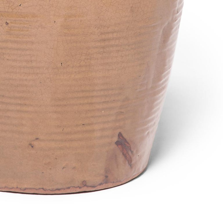 19th Century Chinese Glazed Stoneware Jar In Good Condition For Sale In Chicago, IL