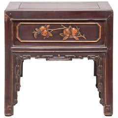 19th Century Chinese Goddess Display Table