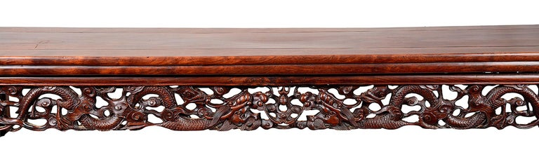 19th Century Chinese Hardwood Alter Table In Excellent Condition For Sale In Brighton, Sussex