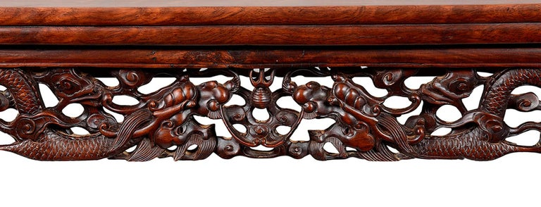 19th Century Chinese Hardwood Alter Table For Sale 1