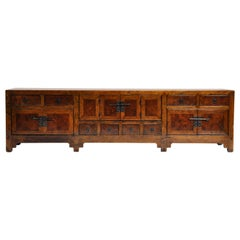 19th Century Chinese Kwang Chest with 8 Drawers