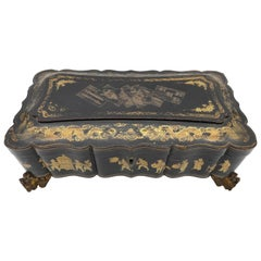 19th Century Chinese Lacquer Box