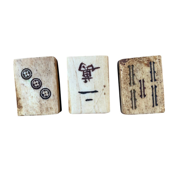 19th Century Chinese Mahjong Set For Sale 7