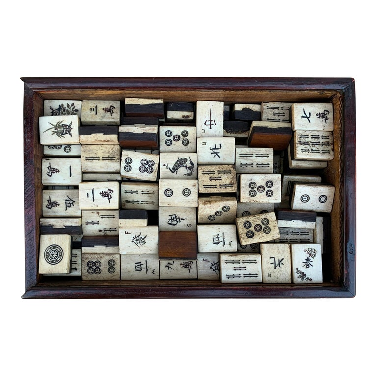 19th Century Chinese Mahjong Set For Sale 2