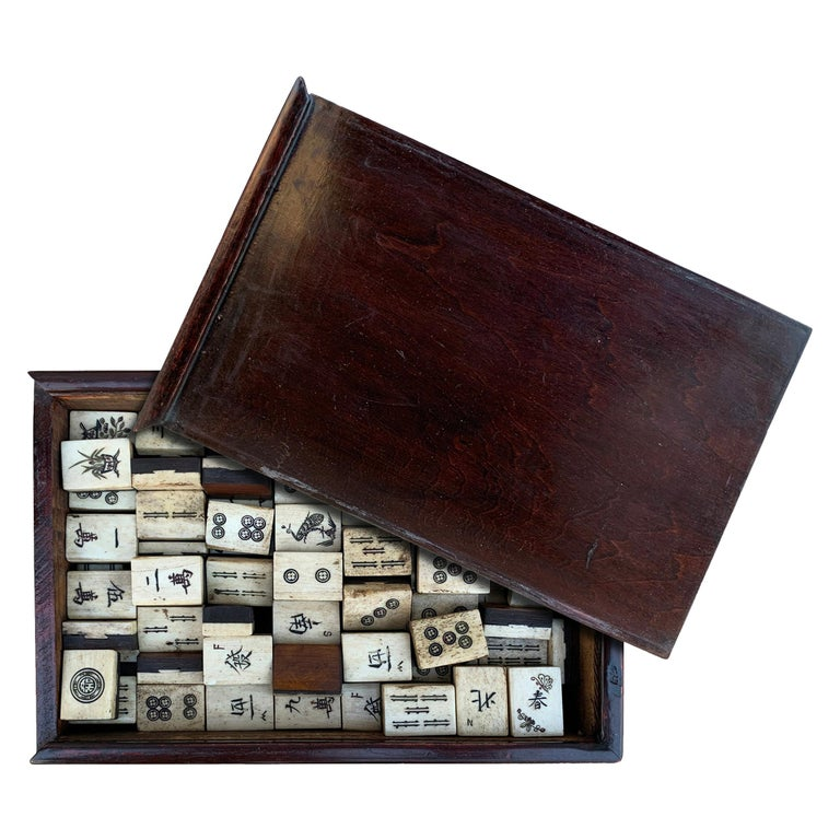 19th Century Chinese Mahjong Set For Sale