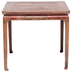 19th Century Chinese Mahjong Table with Drawers