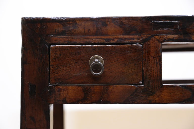 19th Century Chinese Minimal Console Table For Sale 1