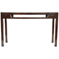 19th Century Chinese Minimal Console Table