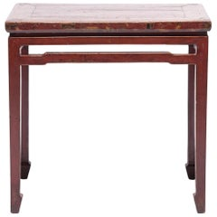 19th Century Chinese Painted Console Table