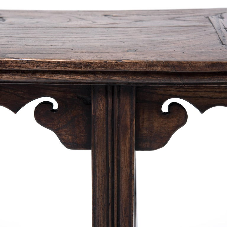 19th Century Chinese Petite Garden Table For Sale 1