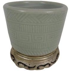 19th Century Chinese Porcelain Brush Pot