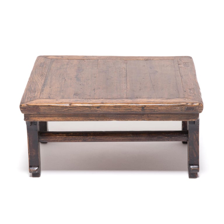Qing 19th Century Chinese Provincial Low Table For Sale