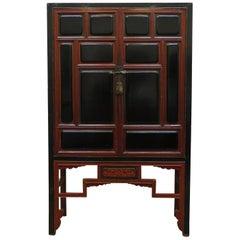 19th Century Chinese Raised Panel Cabinet