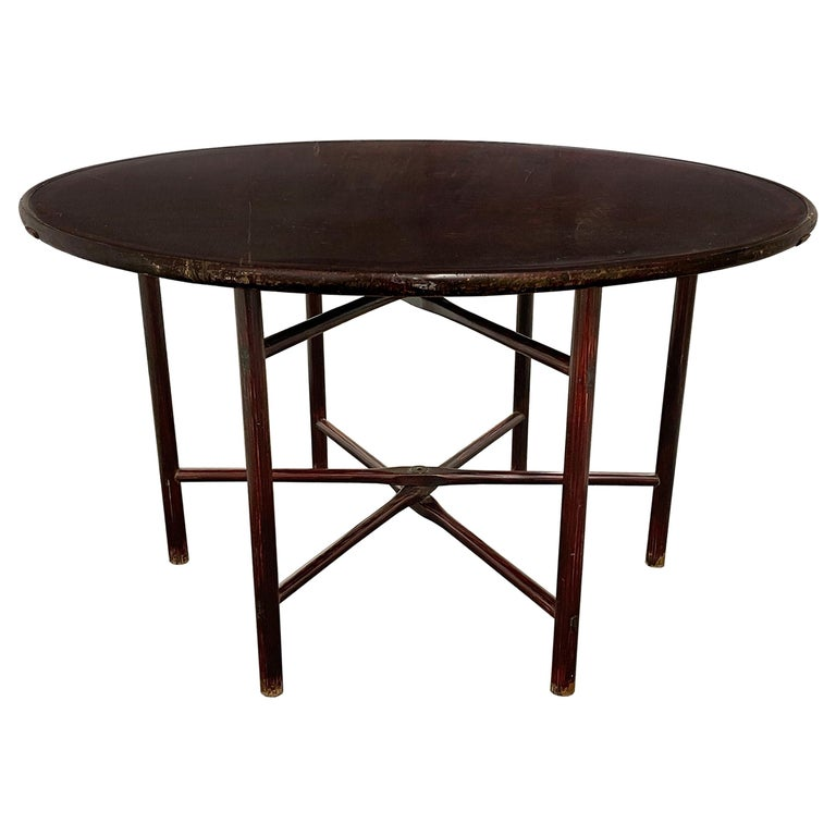 19th Century Chinese Round Table For Sale