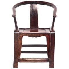 19th Century Chinese Roundback Chair