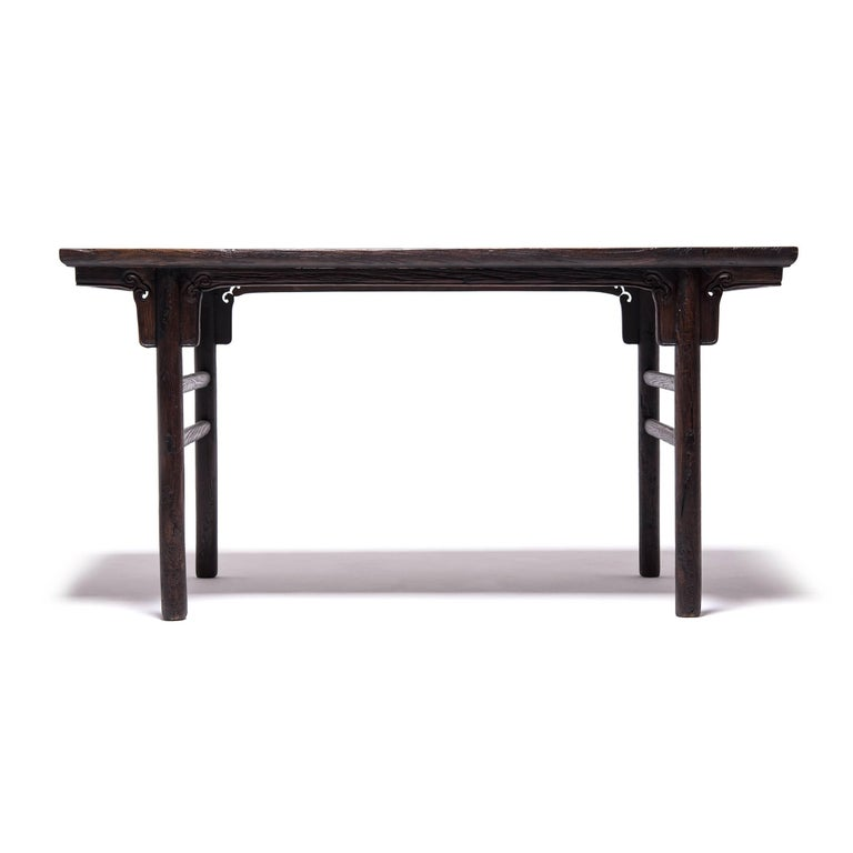 Qing 19th Century Chinese Ruyi Writing Table For Sale