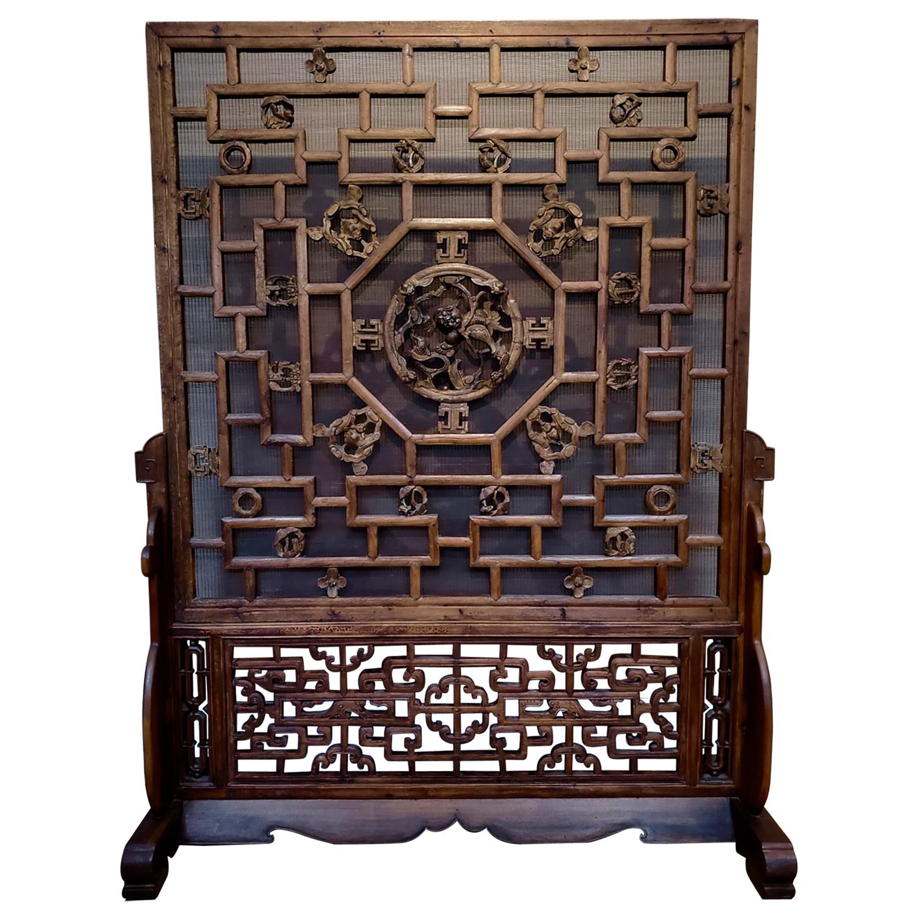 19th Century Chinese Screen