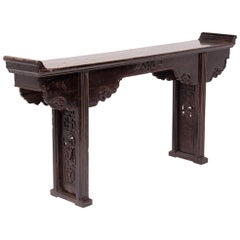 19th Century Chinese Shallow Altar Table