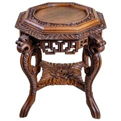 19th Century Chinese Side Table-Flower Stand