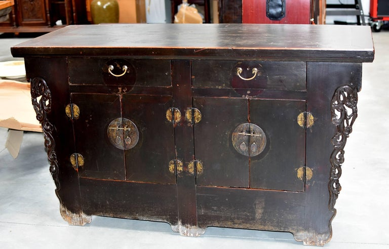 Joinery 19th Century Chinese Sideboard Chest For Sale