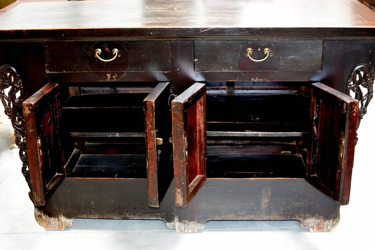 19th Century Chinese Sideboard Chest For Sale 1
