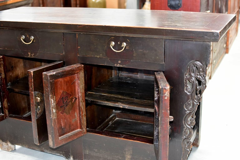 19th Century Chinese Sideboard Chest For Sale 2