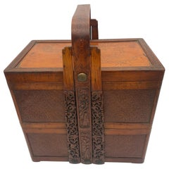 19th Century Chinese Stacked Snack Box