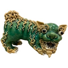 19th Century Chinese Standing Export Foo Lion