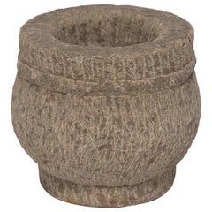 19th Century Chinese Stone Mortar