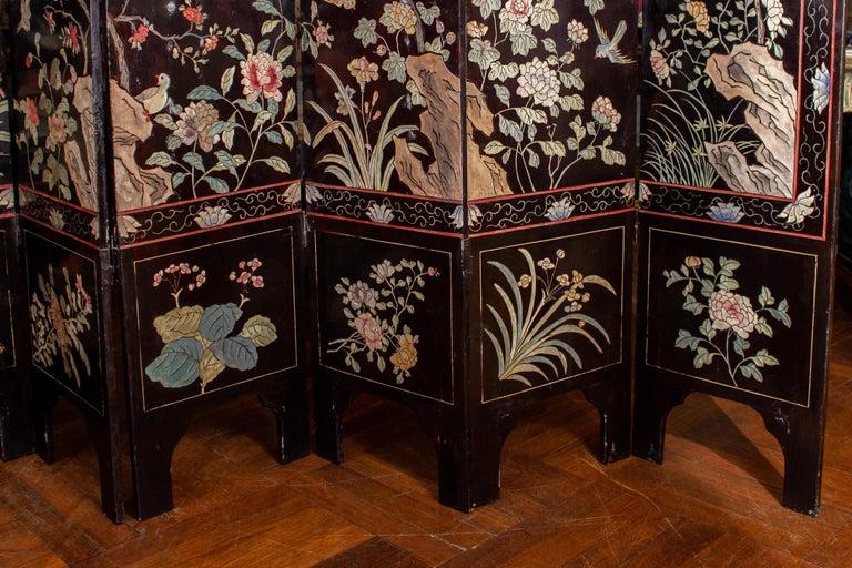 19th Century Chinese Stunning Coromandel Screen For Sale 2