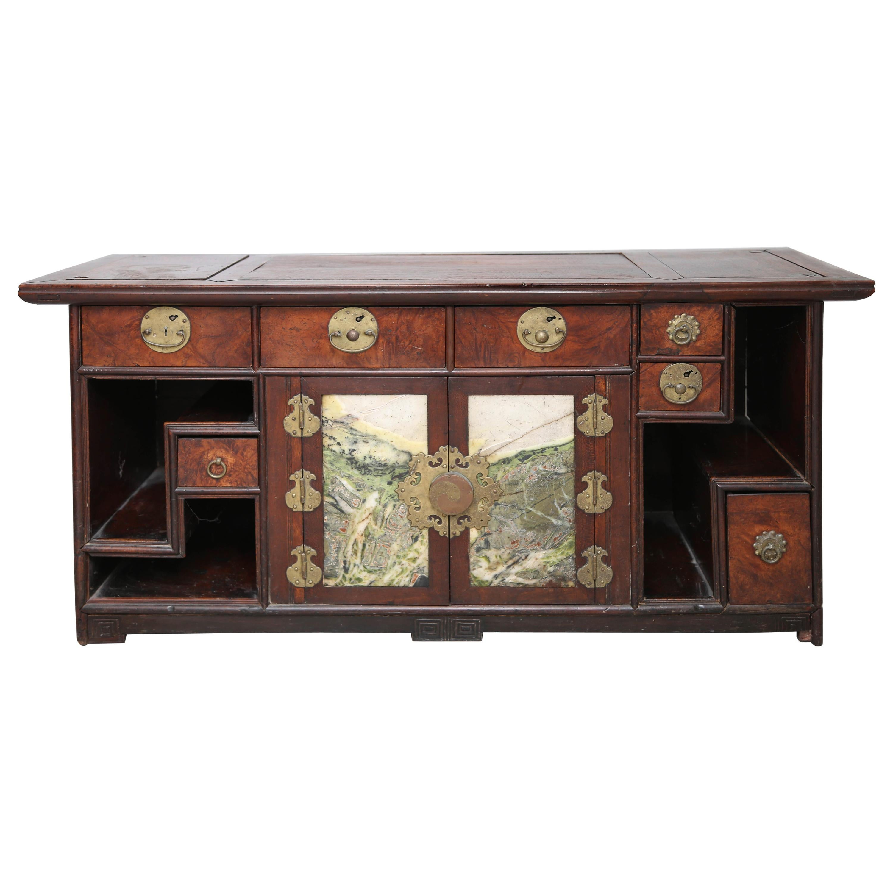 19th Century Chinese Table Cabinet