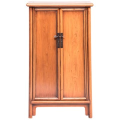 19th Century Chinese Tapered Cabinet