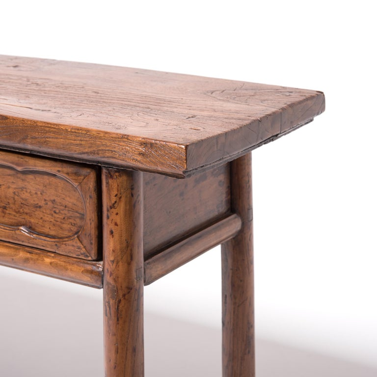 19th Century Chinese Two-Drawer Console Table For Sale 1