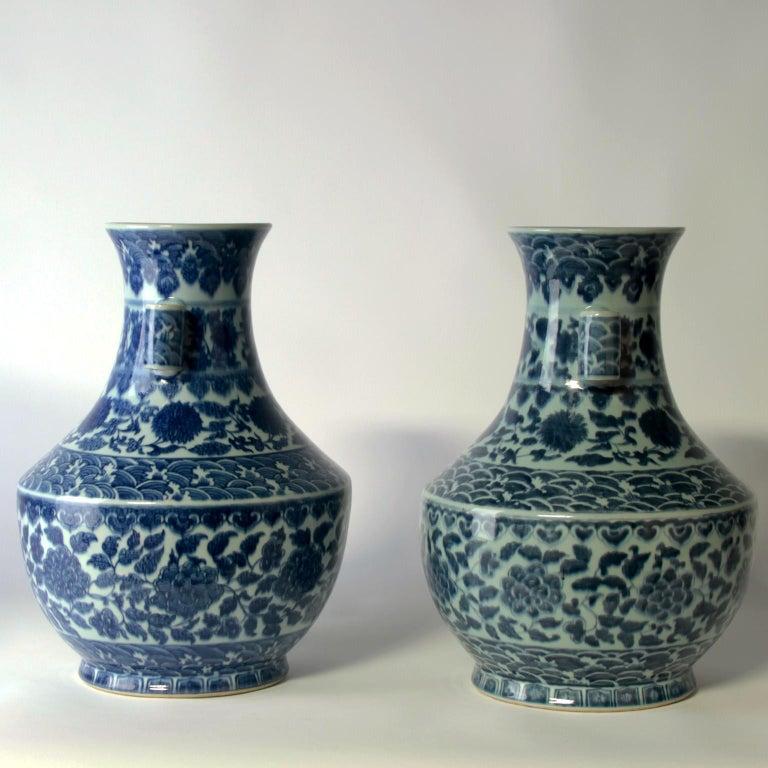 Beautiful 19th century vases.