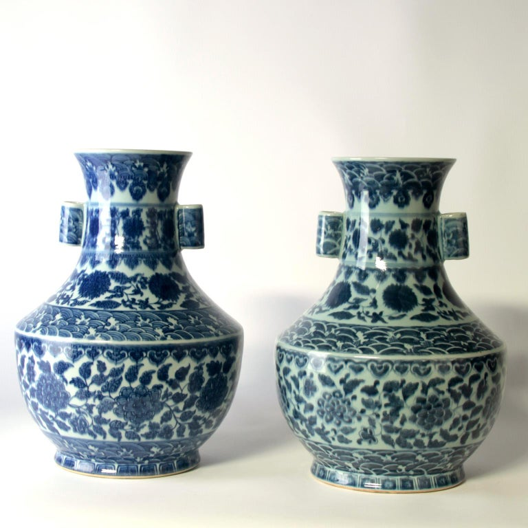 19th Century Chinese Vases In Fair Condition For Sale In Esbeek, NL
