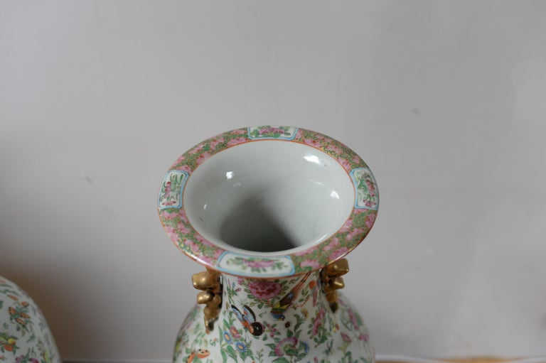 Asian 19th Century Chinese Vases For Sale