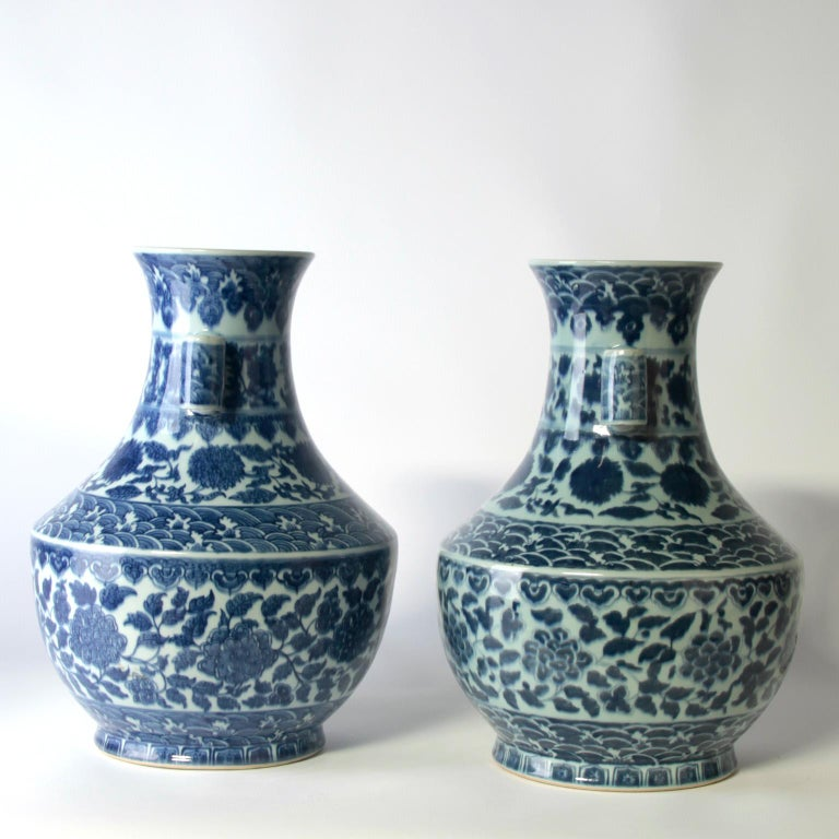 Porcelain 19th Century Chinese Vases For Sale