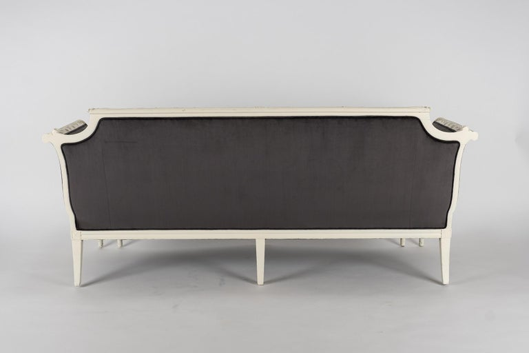 English 19th Century Chippendale Sofa For Sale