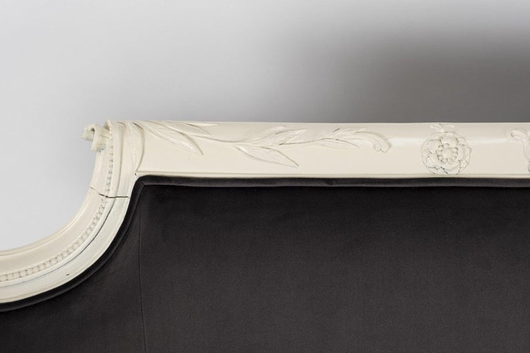 Paint 19th Century Chippendale Sofa For Sale