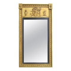 19th Century Classical Regency Style Gilt Mirror