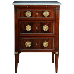 19th Century Classicism Chest of Drawers Louis XVI