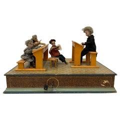 "19th Century ""Classroom"" Automaton G.A. Schwarz, PA, circa 1880"