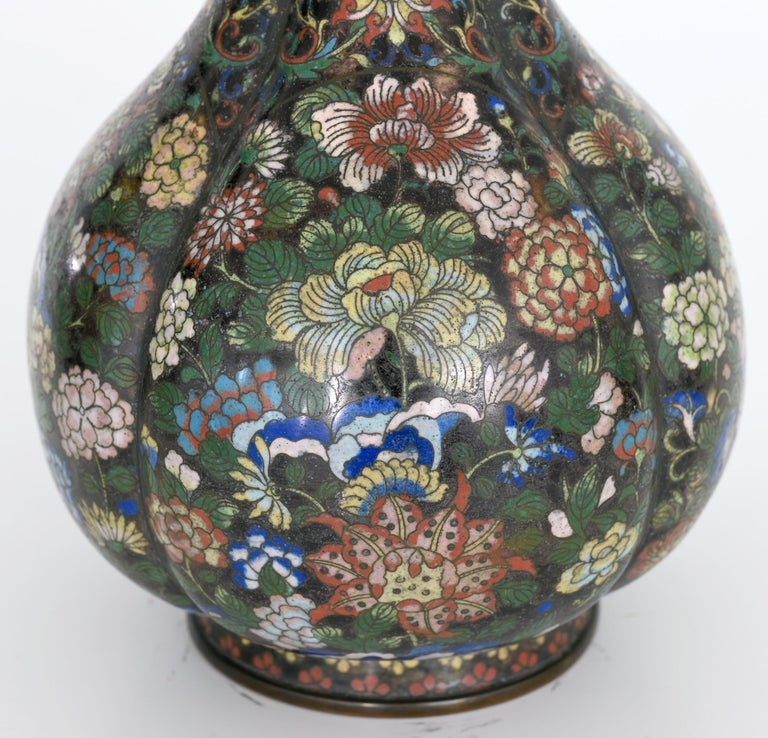 Early 19th Century Cloisonné Vase, China In Good Condition In Epfach, DE