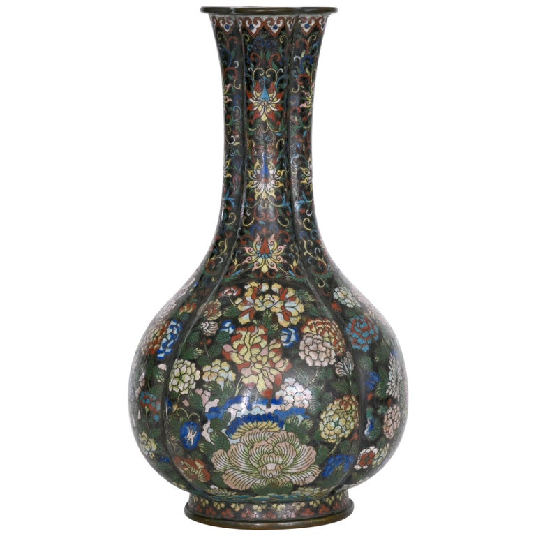 Early 19th Century Cloisonné Vase, China